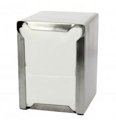 Distributeur Serviettes INOXYDABLE Miniservice 17x17 ( 1 Unité)
