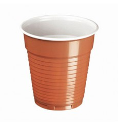 Gobelet Plastique Vending Marron 166ml Ø7,0cm (100 Utés)