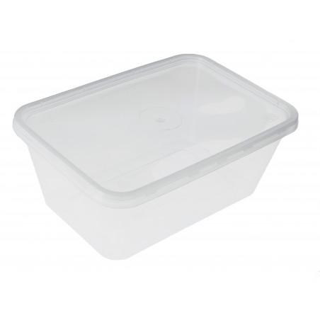 Recipient Plastique Transparent 1000ml (50 Utés)