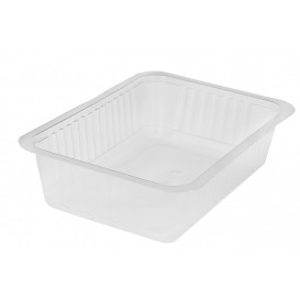 Plastic deli Container PP hittebestendig 1000ml (600 stuks)