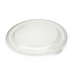 Couvercle en plastique Transp. Ø19cm (50 Unités)