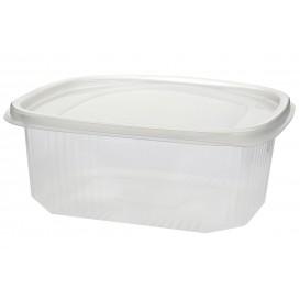 Plastic scharnierende Deli-Container microgolfbaar PP 1500ml (25 stuks)