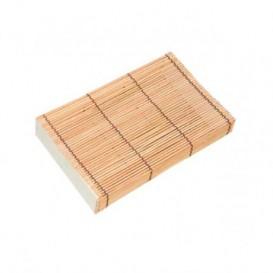Bamboe sushi Container 23x13x4,5cm (24 stuks)