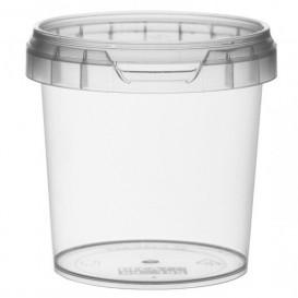 Pot en Plastique rond inviolable 155ml Ø6,9 (960 Unités)