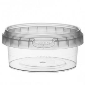 Pot en Plastique rond inviolable 180ml Ø9,5 (252 Unités)
