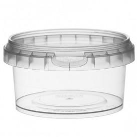 Pot en Plastique rond inviolable 210ml Ø9,5 (247 Unités)