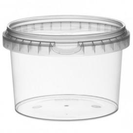 Pot en Plastique rond inviolable 565ml Ø11,8 (264 Unités)