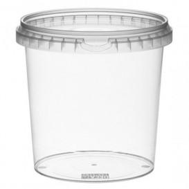 Pot en Plastique rond inviolable 1180ml Ø13,3 (90 Unités)