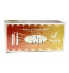 Cure-dents en Bois Rond 2 Bouts en Sachet 65mm (5 Uté)