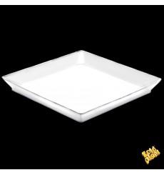 """Plateau Dégustation """"Medium"""" Blanc 13x13cm (12 Utés)"""