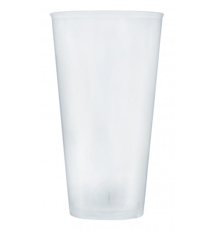 Verre Plastique 470ml PP Transparent (420 Unités)