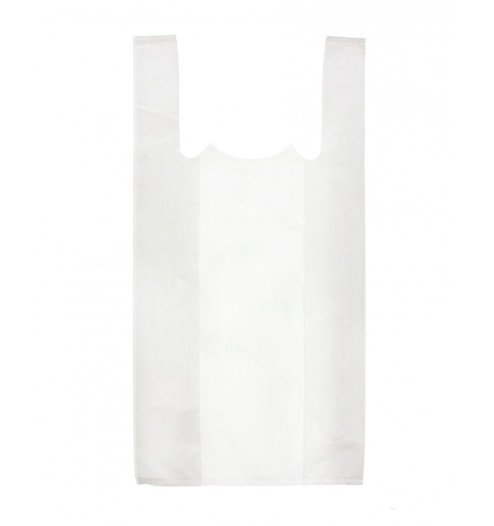 Sac à Bretelles 25x30cm Blanc (200 Unités)