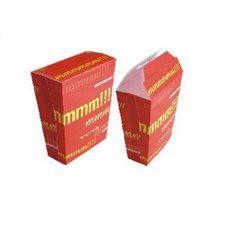 Papieren Container voor frietenGesloten (25 eenheden)