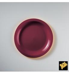 Assiette Plastique Plate Blanc Ø185mm (50 Utés)