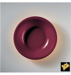 Assiette Creuse Bordeaux Round PP Ø195mm (600 Utés)