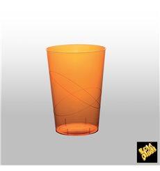 Verre Plastique Moon Orange Transp. PS 230ml (1000 Unités)