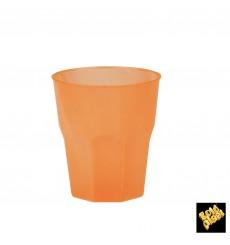 """Verre Plastique """"Frost"""" Orange PP 270ml (20 Unités)"""