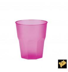 """Verre Plastique """"Frost"""" Fuchsia PP 270ml (20 Unités)"""