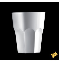Verre Réutilisable SAN Rox Blanc 300ml (120 Utés)
