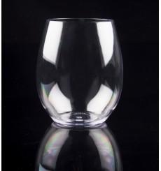 Verre Réutilisable Tritan Transparent 390ml (1 Unité)