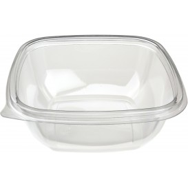 Bol en Plastique Carré PET 250ml 125x125x40mm (500 Utés)