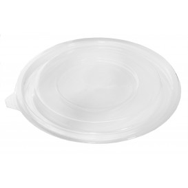 Plastic Deksel voor Kom PET Plat Ø18cm (60 stuks)