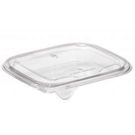 Plastic Deksel voor Deli Container PET Plat 14x12cm (63 stuks)