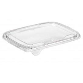Plastic Deksel voor Deli Container PET Plat 18x14cm (65 stuks)
