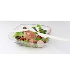 Fourchette Biodégradable Blanc CPLA 160mm (1000 Unités)
