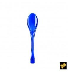 Cuillère Plastique Fly Bleu Transp. 145mm (50 Unités)
