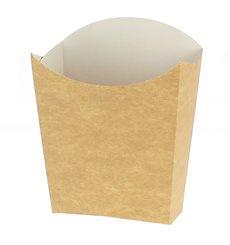 Etui à Frites Kraft Moyen 8,2x3,5x12,5cm (500 Unités)