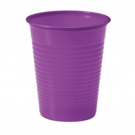 Gobelet Plastique Violet PS 200ml (1500 Unités)