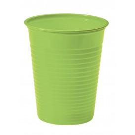 Gobelet Plastique Vert citron PS 200ml (50 Unités)
