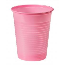 Plastic PS beker roze 200ml Ø7cm (50 stuks)