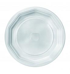 Assiette Plastique Plate Blanche PS 220 mm (1600 Unités)