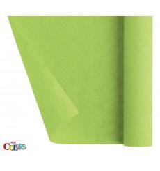 Nappe en Papier en Rouleau Vert citron 1,2x7m (25 Utés)