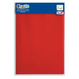 Papieren Tafelkleed rood 1,2x1,8m (1 stuk)