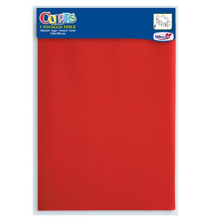 Set de Table papier rouge 1,2x1,8m (1 Uté)