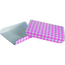 Papieren dienblad voor een wafelroze 13,5x10cm (100 stuks)