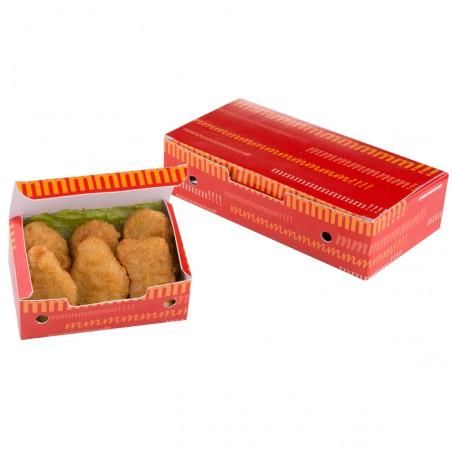 Boîte pour repas à emporter 115x72x43mm (750 Utés)