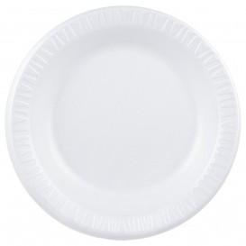"Schuim bord Foam ""Quiet Classic"" gelamineerd wit Ø26 cm (125 stuks)"