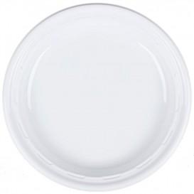 """Assiette en Plastique PS """"Famous Impact"""" Blanc Ø230mm (500 Unités)"""