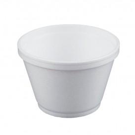 Schuim Container wit 6Oz/180ml Ø8,9cm (50 stuks)