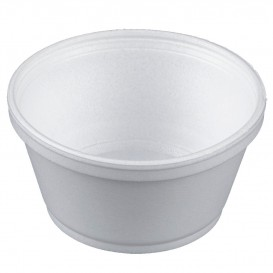 Pot en Foam Blanc 8OZ/240ml Ø11cm (500 Unités)