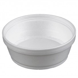 Pot en Foam Blanc 8OZ/240ml Ø11,7cm (25 Unités)
