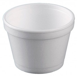 Pot en Foam Blanc 12 OZ/355ml Ø11cm (25 Unités)
