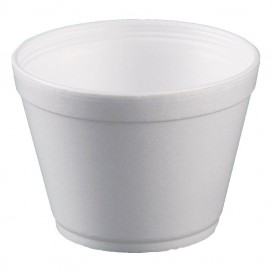 Pot en Foam Blanc 16OZ/475ml Ø11,7cm (500 Unités)