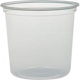 """Récipient en Plastique PP """"Deli"""" 24Oz/710ml Transp. Ø120mm (500 Unités)"""