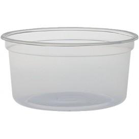 "Plastic deli Container PP ""Deli"" 12Oz/355ml transparant Ø12cm (25 stuks)"