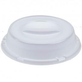Couvercle Haut Plastique PS Translucide Ø230mm (125 Unités)